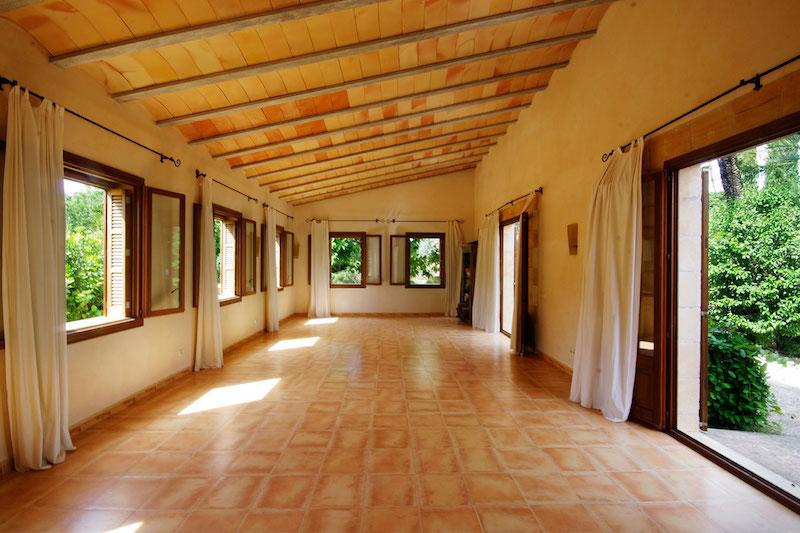 Yoga retreat center in Mallorca